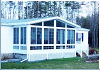 American Dreamspace Maine Patio Enclosures Four